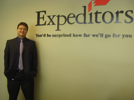 Croft Alumnus at Expeditors