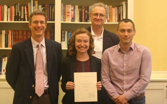 Thesis Prize Winners | Croft Institute for International Studies at