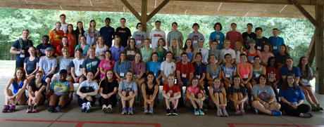 The 2015 Incoming Student Retreat at Camp Hopewell